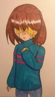 Lost: FlowerFell Frisk by ccebrownie