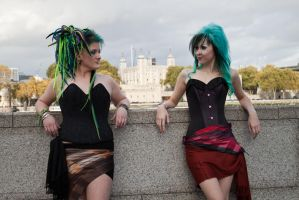 Londinium corsets stock 4 by Random-Acts-Stock