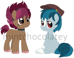 Punky Fillies MLP Adopts by MintChocolatey