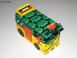 TMNT Party Van 3-D Bead Sprite by DrOctoroc