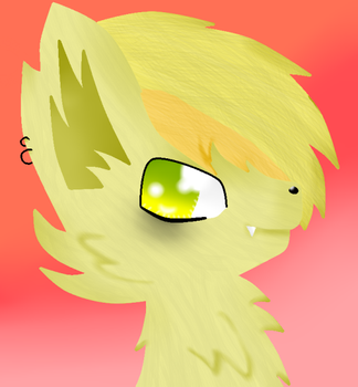 Yellow Wolf by theshadowpony357