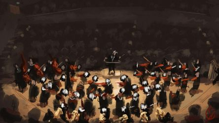 Speedpainting - Orchestera by IRCSS