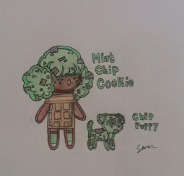 [O.C] Mint Chip Cookie by Twisted-Troll