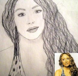 Tori Amos Drawing 2 by liminalstate