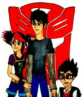 Humans of Transformers Prime by InkArtWriter