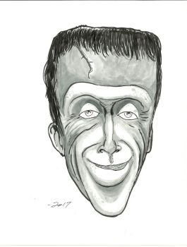 Herman Munster by gandalf0987