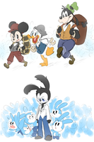 Mickey Mouse's traveling circus (bab:tqftim) by thegreatrouge