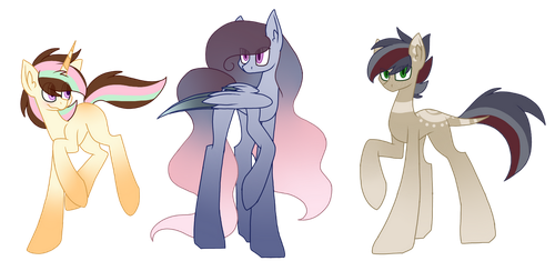 Closed OTA MLP Mystery Adopts by SpaazleDazzle