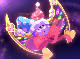 Floating Marx by Ele-nya