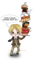 Hetalia: WORLD PEACE by paper-sting
