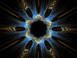 bluegolden star by Andrea1981G