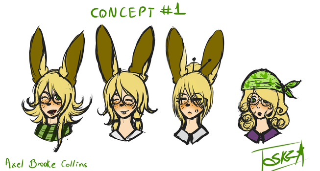 [ Axel Concepts ] by Sukzu-Chan
