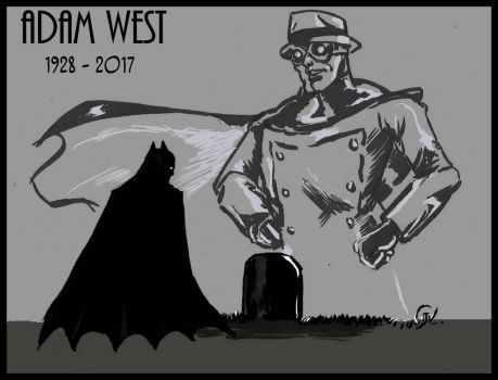 RIP Adam West by shankRV
