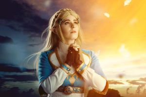 Princess Zelda: Breath of the wild by SCARLET-COSPLAY