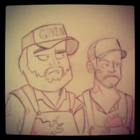 Tucker and Dale vs. Evil! by JeffMyles