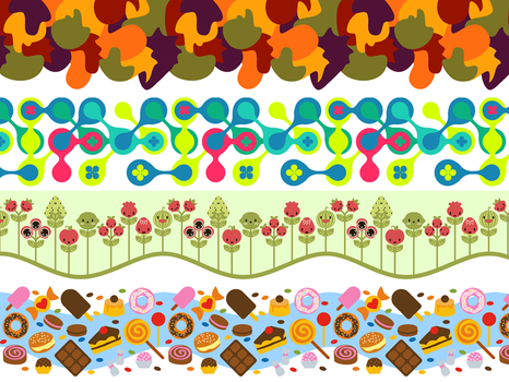 patterns for UOL Kids by lumi-mae