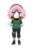 Chibi Sakura by whiterabbit20