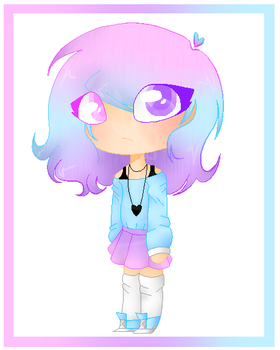 Gradient Girl wow by CatGirl22111