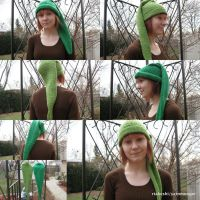 Knitted Link's Kokiri Hat by RTakeshi