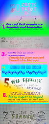 30 Facts about us! by XxDevilchuxX