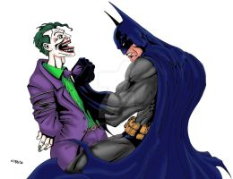Batman Joker Color by ESO2001