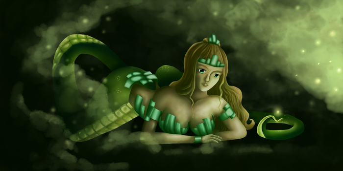 Lamia- Contest entry by True-Bee