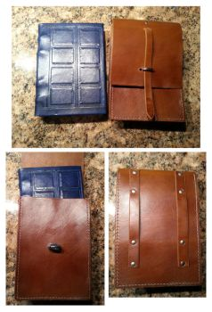 Commission: River Song Journal and Case by DanTheLefty