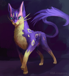 Liepard by R8A-creations