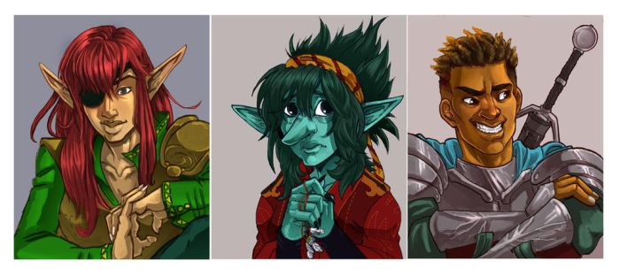 Choose My Own Adventure Podcast crew by LindseyWagner