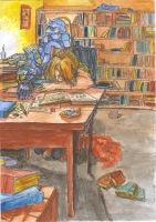 Elric brothers study by DagronRat