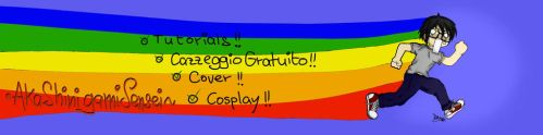 My YouTube Channel's Cover Image by ChiakiHino