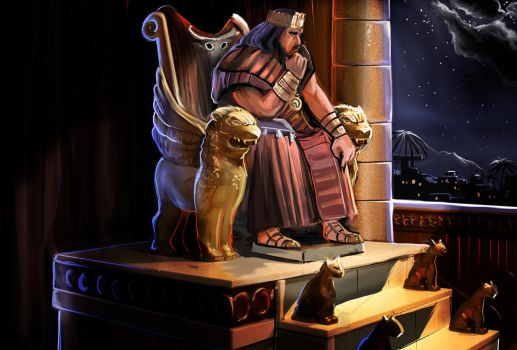 King Solomon Deep Thought by pyraker