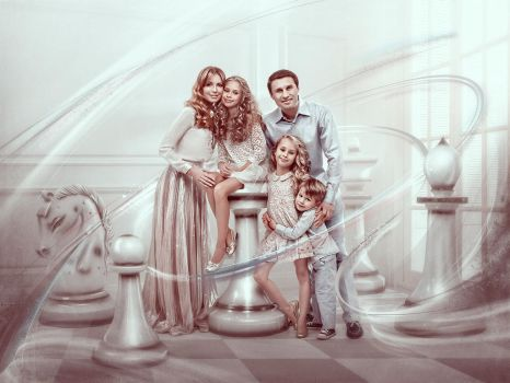 chess family by Vuelo