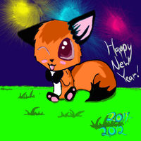 HAPPY NEW YEAR GUYS by Brightleaves