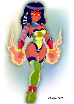 Powerfull Taina by Celso33