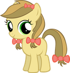 Apple Strudel Filly by MoongazePonies