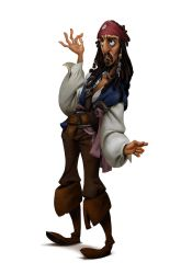 Fanart - Character from Pirate of The Caribbean by Victorior