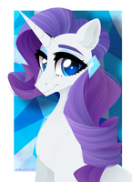 Elegance [Rarity|MLP:FiM] by GLaSTALINKA