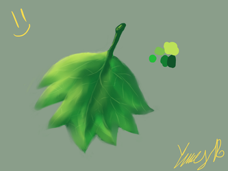 Leafe by ArcadeLeviathan