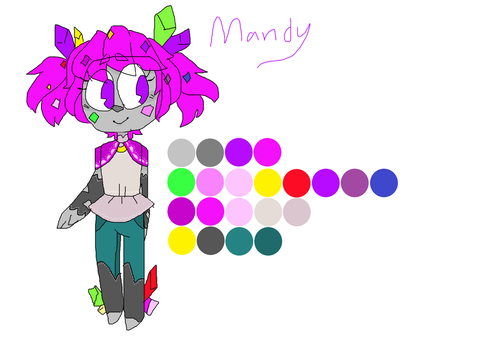 Mandy color ref by TheCatQueen10