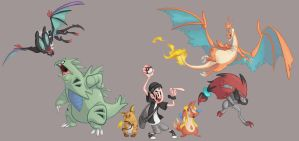 Pokemon Team Y