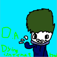 My first ever sai drawing (on da) by Dyingisntthatbad