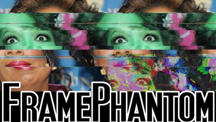 Oprah glitched - FB banner by TheoLugs