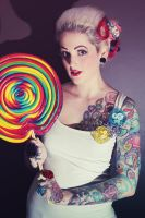 Big Lollipop by retrotrashphotogrphy