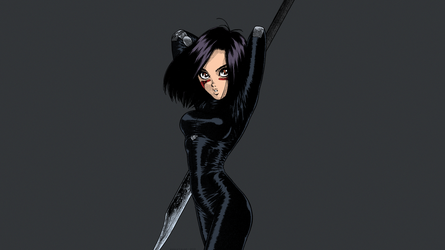 Gunnm - Battle Angel Alita by Yukito Kishiro #9 by theBakamono