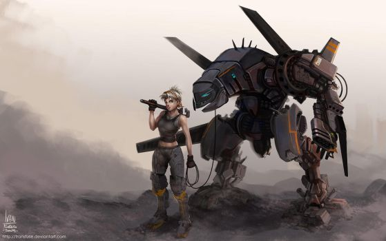 Mechs are a Girl'sBestFriend by transfuse