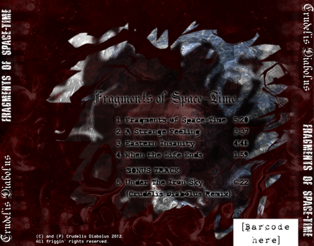 Fragments of Space-Time Back Cover by GoldenSin