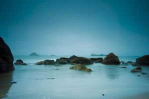 Sea Rocks Stock by little-spacey