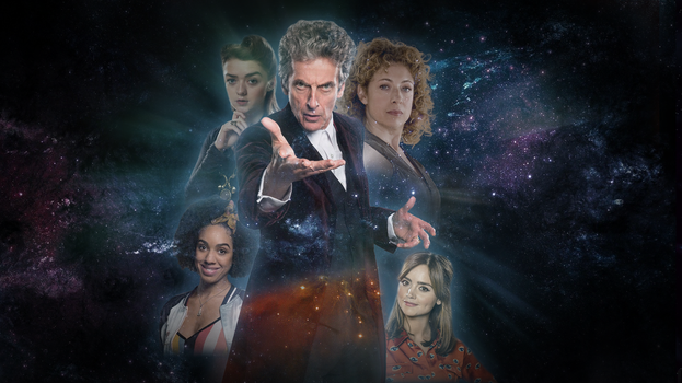 Doctor Who 12th and companions by natestarke