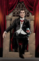 Commission Art: Dracula (Bela Lugosi) by paneseeker